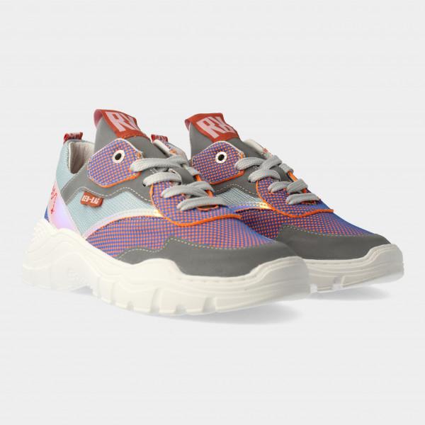 Paars Blauwe Sneakers | Red-Rag 13181