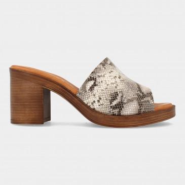 Slippers Met Print | Red-Rag 79214