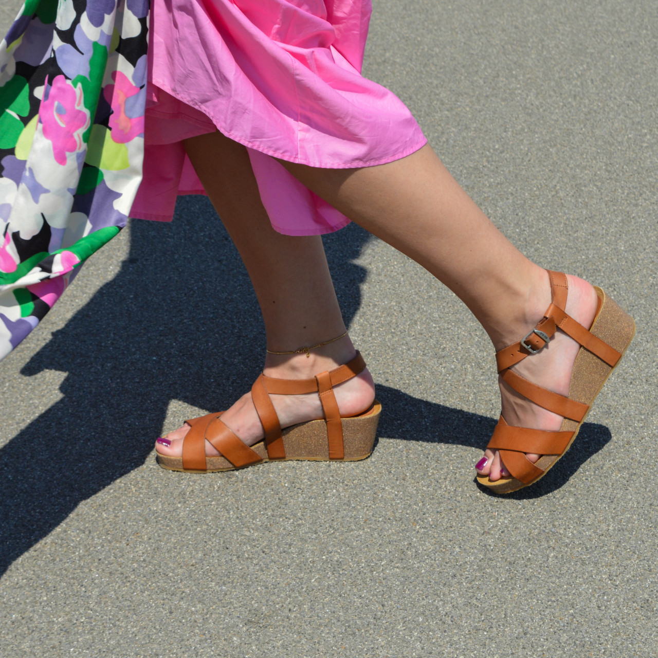79248   Women Sandal Wedge