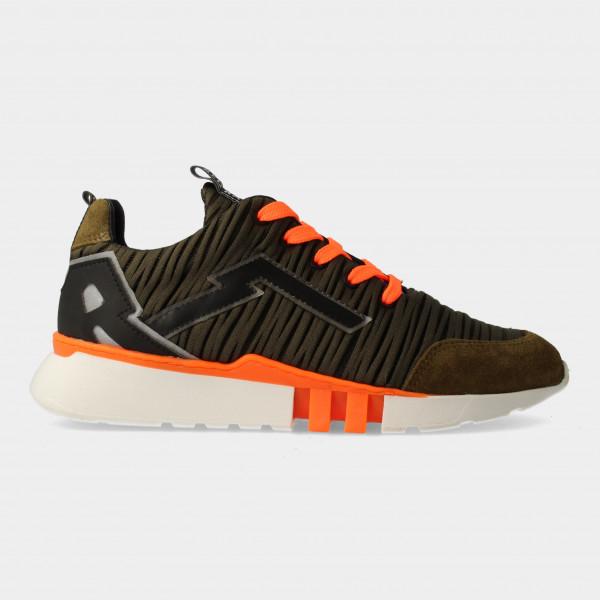 Groene Sneakers | Red-Rag 13441
