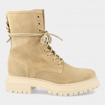 Beige Veter Boots | Red-Rag 71232