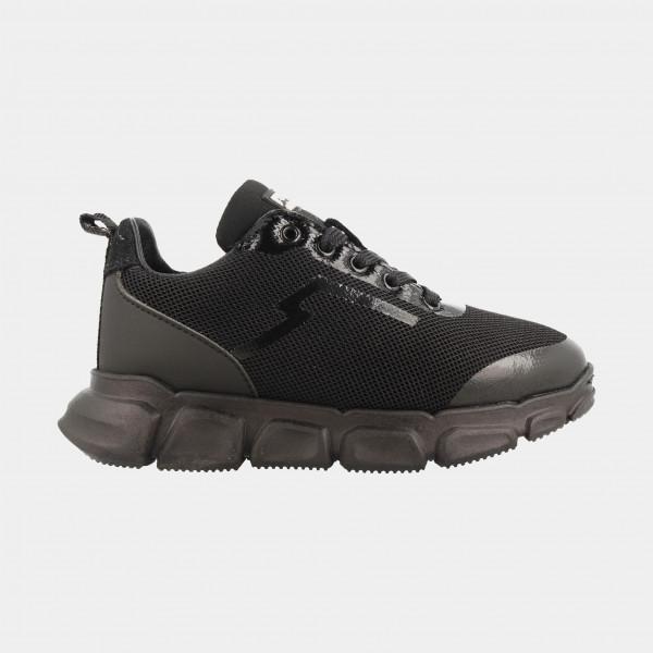 Zwarte Sneakers Laag | Red-Rag 13335