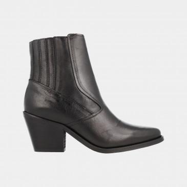 Zwarte Cowboy Laarzen | Red-Rag 77094