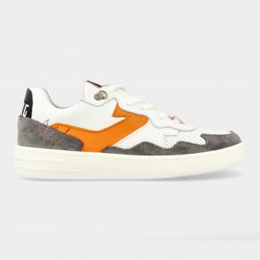 Grijs Witte Sneakers | Red-Rag 13115