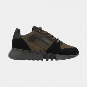 Groene Sneakers Laag | Red-Rag 13215