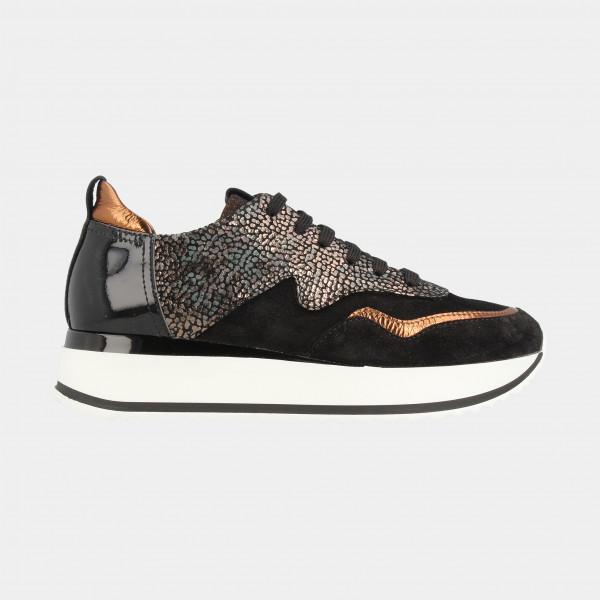 Zwarte Sneakers | Red-Rag 76766
