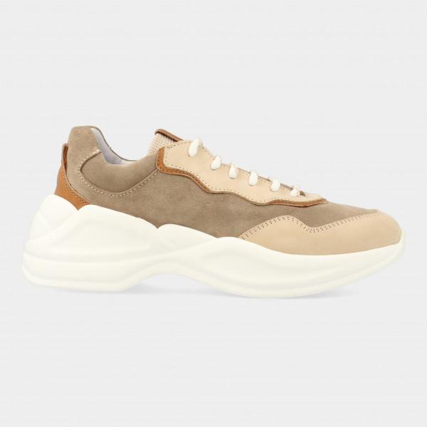 Beige Sneaker | Red-Rag 76740