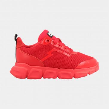 Rode Sneakers Laag | Red-Rag 13335