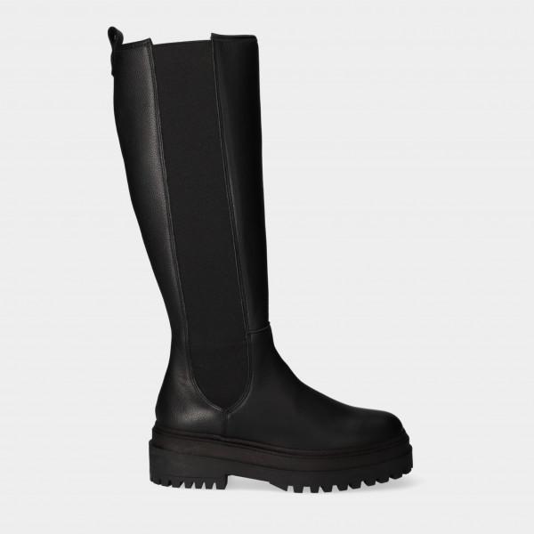 Hoge Zwarte Chelsea Boots | Red-Rag 71204