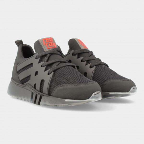 Zwarte Sneakers   Red-Rag 13557
