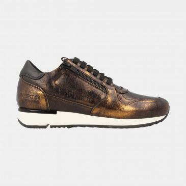 Bronzen Sneakers | Red-Rag 76816