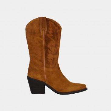 Cognac Cowboy Laarzen | Red-Rag 77048
