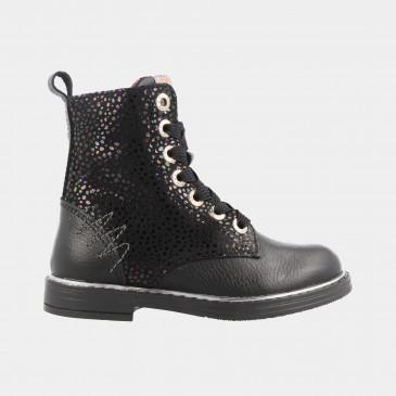 Zwarte Boots | Red-Rag 12094