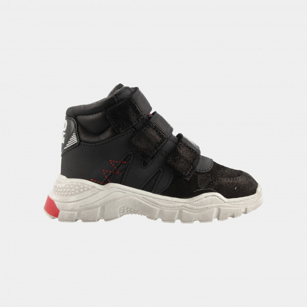 Hoge Zwarte Sneakers | Red-Rag 13119