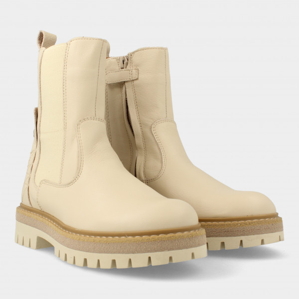 Hoge Off White Chelsea Boots   Red-Rag 12316
