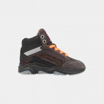 Hoge Grijze Sneakers | Red-Rag 13171
