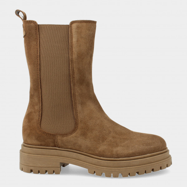 Hoge Taupe Chelsea Boots | Red-Rag 71238