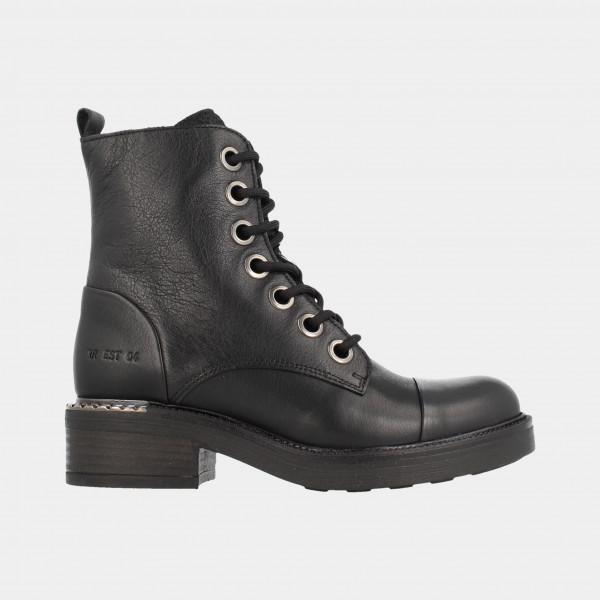 Zwarte Biker Boots | Red-Rag 74366