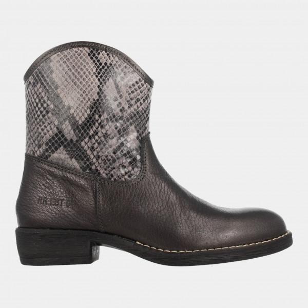 Cowboy Laarsjes Zilver | Red-Rag 11156