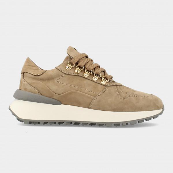 Taupe Nubuck Sneakers | Red-Rag 76846