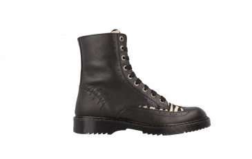 Girls Mid Boot Laces Brogue