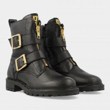 Zwarte Biker Boots | Red-Rag 11102