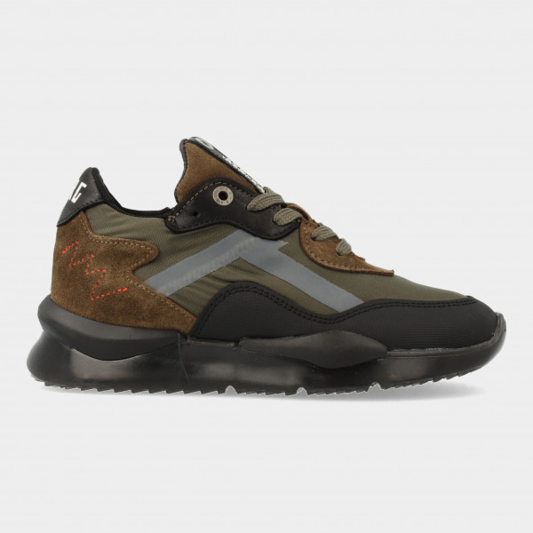 Groene Sneakers | Red-Rag 13523