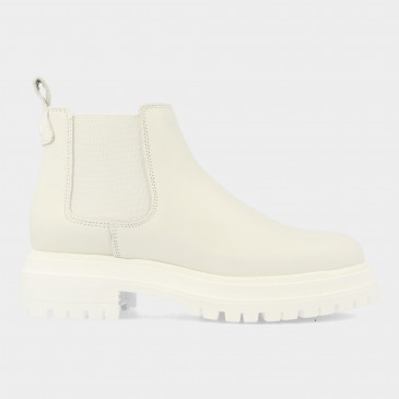 Lage Witte Chelsea Boots | Red-Rag 71122