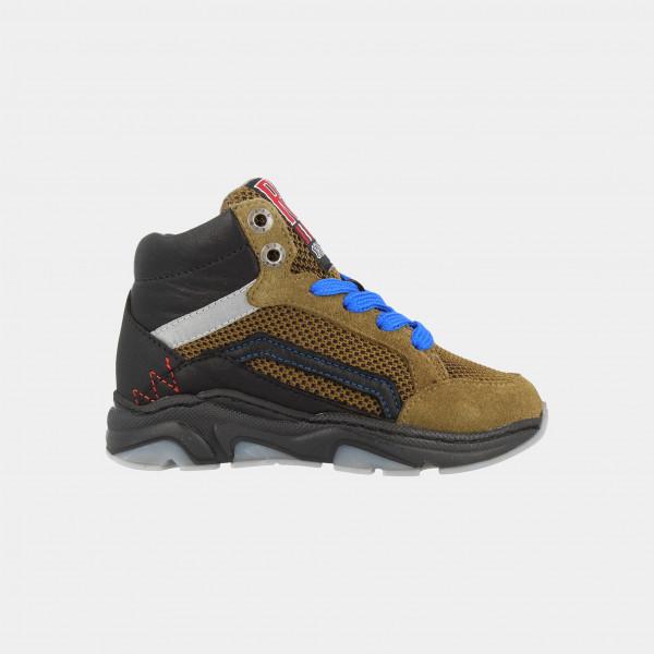 Hoge Groene Sneakers | Red-Rag 13171