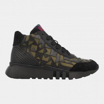 Hoge Sneakers Groen | Red-Rag 13375