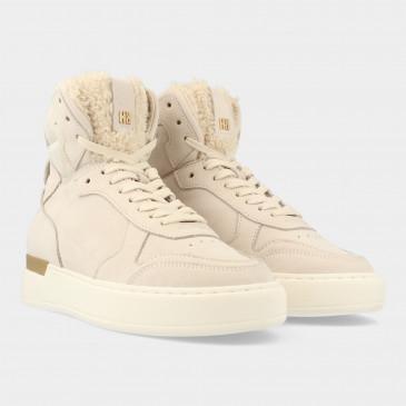 Hoge Beige Sneakers | Red-Rag 71272