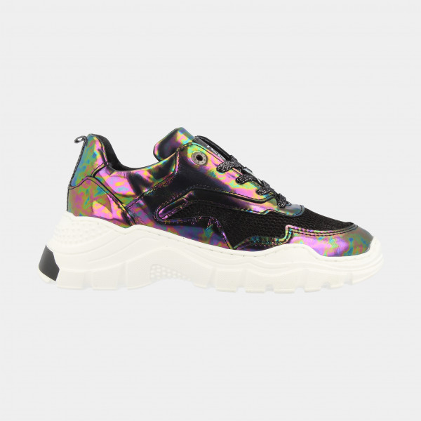 Holographic Sneakers Laag   Red-Rag 13076