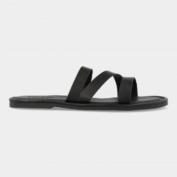 Zwarte Slippers   Red-Rag 79296