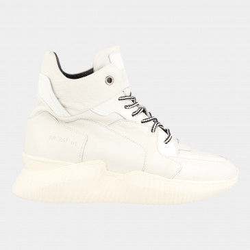Hoge Witte Sneakers | Red-Rag 71126