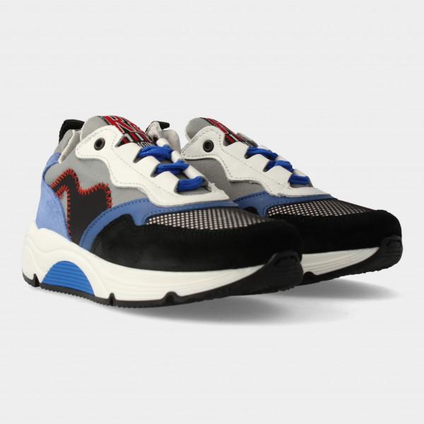 Grijs Blauwe Sneakers | Red-Rag 13089