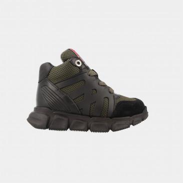Hoge Groene Sneakers | Red-Rag 13159