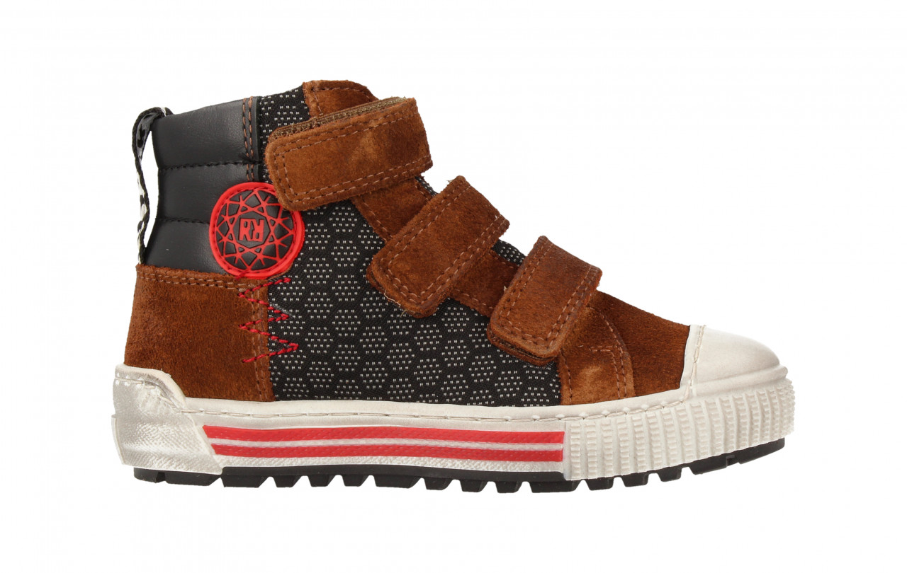 Boys Mid Cut Shoe 3 Velcro