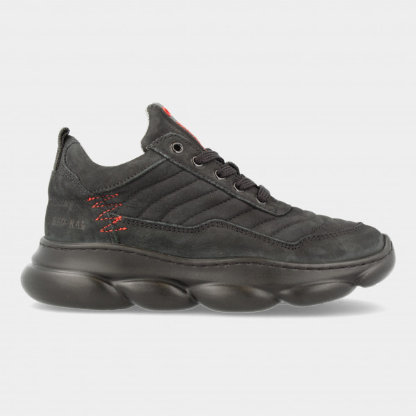 Zwarte Sneakers   Red-Rag 13541