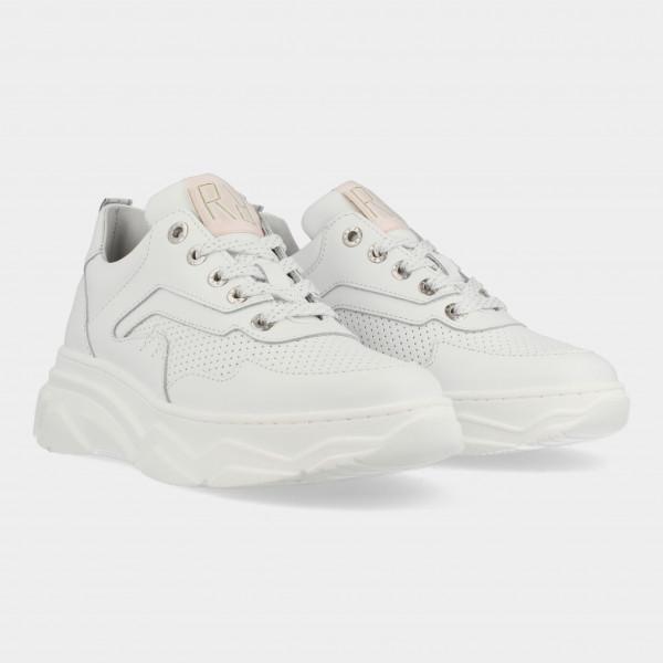 Witte Sneakers | Red-Rag 13030