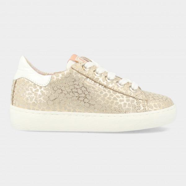 Gouden Sneakers Met Rits | Red-Rag 12160
