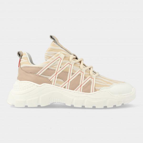 Beige Sneakers | Red-Rag 13062