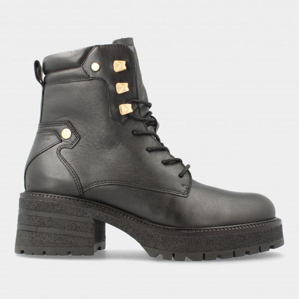 Zwarte Biker Boots | Red-Rag 74428