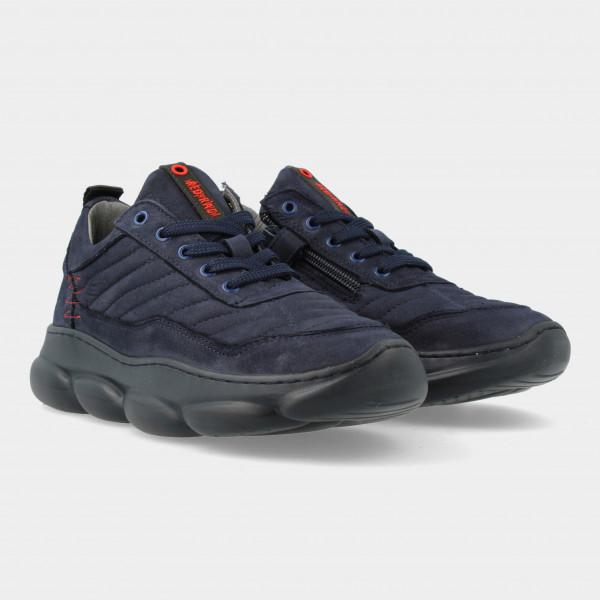 Blauwe Sneakers | Red-Rag 13541