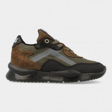 Groene Sneakers   Red-Rag 13523