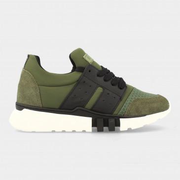 Groene Sneakers | Red-Rag 13447