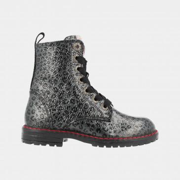 Grijze Panter Boots | Red-Rag 12086