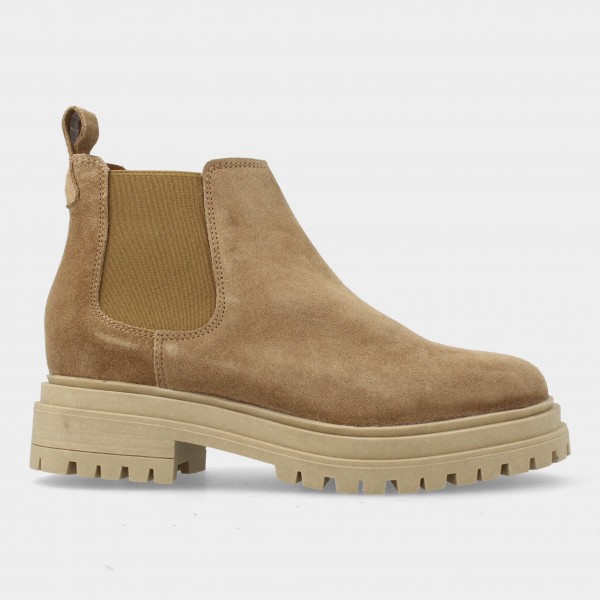 Lage Taupe Chelsea Boots | Red-Rag 71120