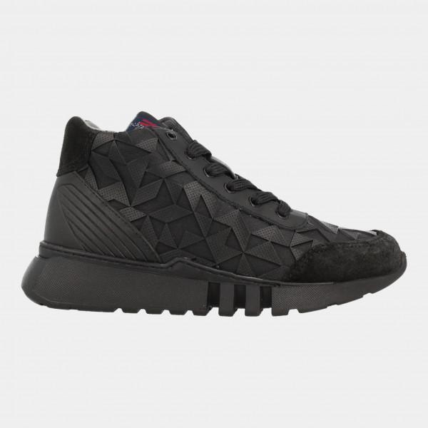 Hoge Sneakers Zwart | Red-Rag 13375