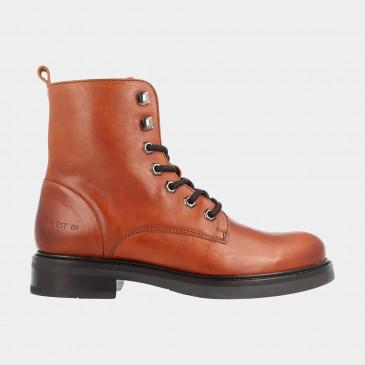 Cognac Biker Boots | Red-Rag 71168