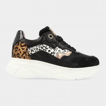 Zwarte Sneakers | Red-Rag 13130